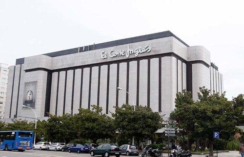 23 septiembre 2016 A Coruña.- Fotografía del edifició de El Corte Inglés en A Coruña